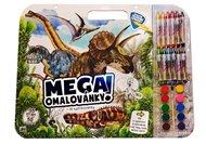 Mega omalovánky - Dinosauři