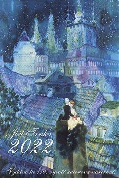 Obálka titulu Nástěnný kalendář Jiří Trnka 2022, výroční