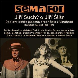 SEMAFOR - KOMPLET 9 HER Z LET 1965-1970 - 15 CD