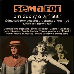 Obálka titulu Semafor - Jiří Suchý a Jiří Šlitr