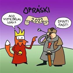 Obálka titulu Opráski 2022