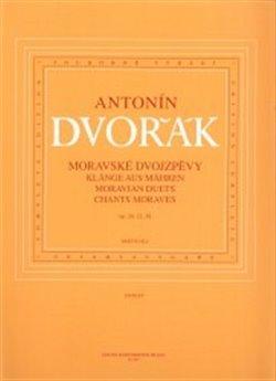 Obálka titulu Moravské dvojzpěvy op. 20, 32, 38
