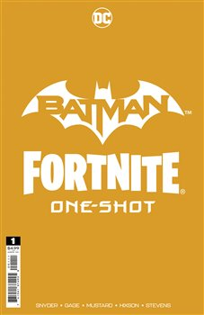 Obálka titulu Batman/Fortnite: Foundation