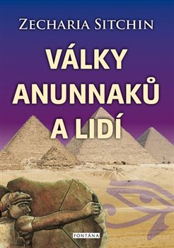 Obálka titulu Válka Anunnaků a lidí