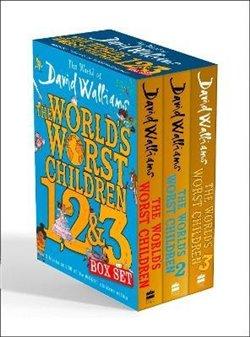 Obálka titulu The World's Worst Children 1, 2 & 3 Box Set