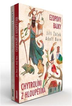Obálka titulu Ezopovy bajky / Chytrolíni z Hloupětína (box)