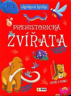 Okénková knížka Prehistorická zvířata
