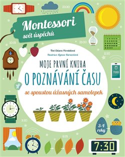 Obálka titulu Montessori-Moje první kniha o poznávání času