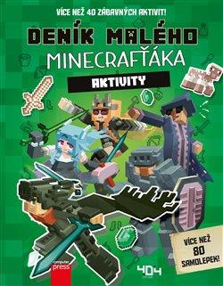 Obálka titulu Deník malého Minecrafťáka: Aktivity