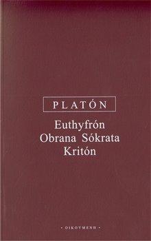 Obálka titulu Euthyfrón, Obrana Sókrata, Kritón