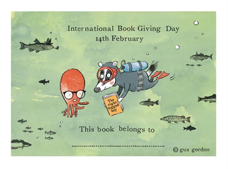 Mezinárodní den darování knihy 14.2.