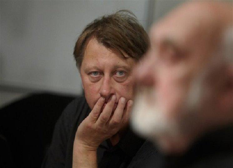 Pro brigádnici Kačenku čte z nového románu Jáchym Topol