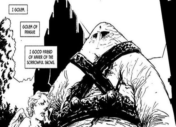 Vítání komiksu Truchlivý amoret pražský