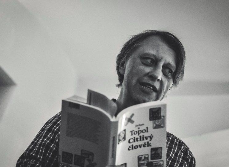 Státní cena za literaturu 2017: Jáchym Topol