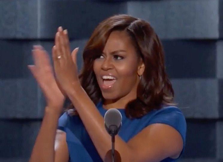 13. listopadu 2018 vyjdou paměti Michelle Obamové, možné budoucí první prezidentky USA