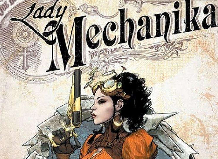 Kombinace sci-fi prvků a viktoriánské éry přivádí čtenáře do Anglie zcela ovládnuté technikou, v níž věhlasná soukromá detektivka Lady Mechanika bojuje se zloduchy a zároveň pátrá po své minulosti. Kráska v korzetu a legínách trpí totiž amnézií, a tak každá podobná bytost, co není ani člověkem, ani strojem, pro ni může být vodítkem k vlastnímu tajemství.