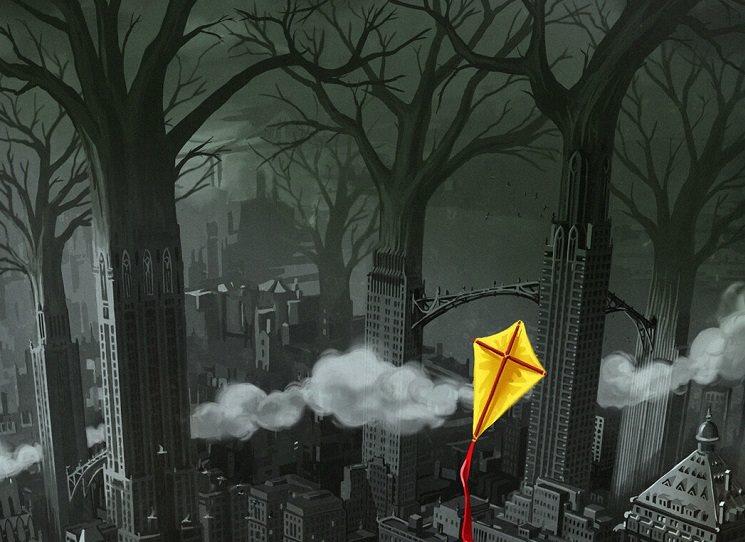 Grimm City - noir postapo krimi v mafiánské dusivé metropoli