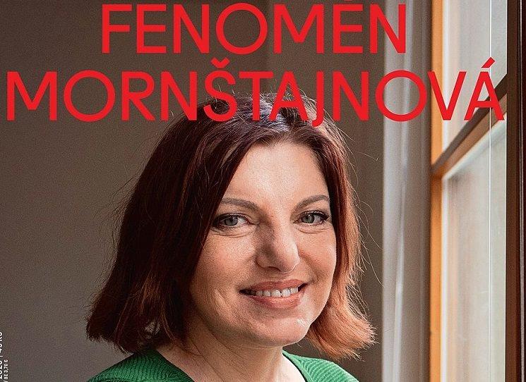 Fenomén Mornštajnová hlavním tématem časopisu Respekt 9/2020