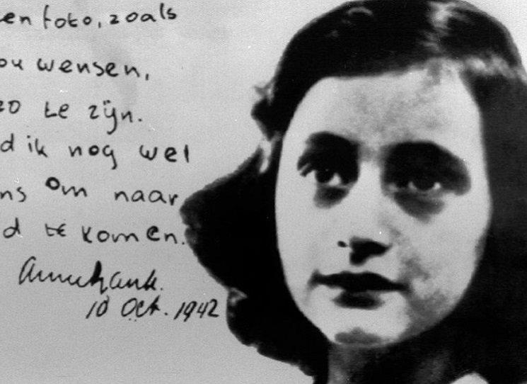 Anne Franková a její povídky, třeba o blechách