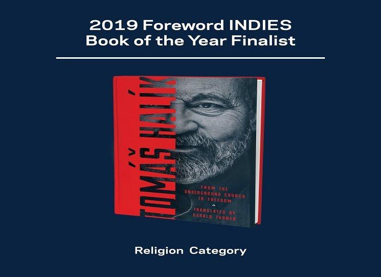 Halíkova kniha se stala v Americe náboženskou knihou roku