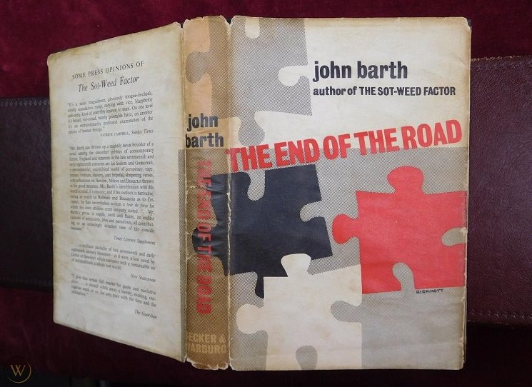 První John Barth česky - musilovská Na konci cesty
