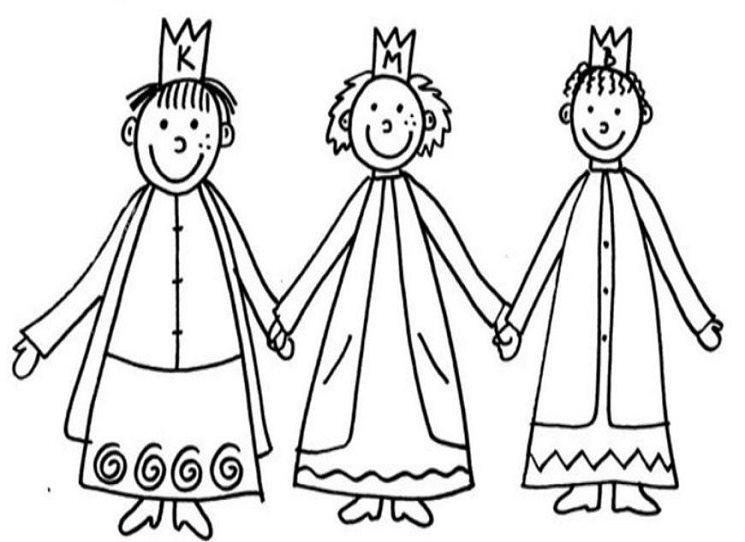 My tři králové jdeme k vám, odboj a odpor vinšujem vám!