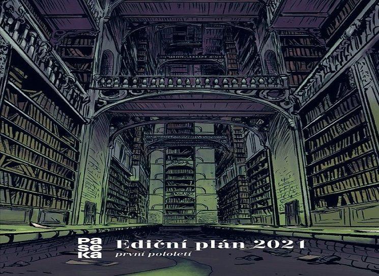 Ediční plán Paseka  - 1. pololetí 2021