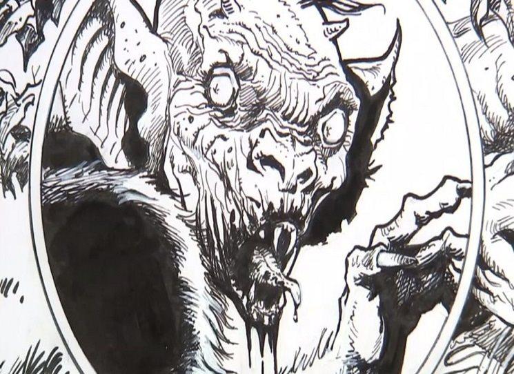 Komiksový (limitovaný) Dracula