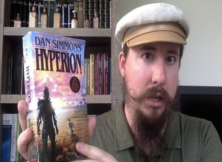 Podobně rozsáhlý a mistrně zkomponovaný příběh jako je Hyperion nikdo  nikdy před Danem Simmonsem ani po Simmonsovi nenabídl. Kondenzované dějiny celého sci-fi a částečně i fantasy jsou přitom zároveň zajímavé i stylově. Simmons dokáže vynalézavě konstruovat svůj text, hrát si s žánrem románu v dopisech, přecházet mezi er- a ich-formou, osekávat věty na kost stejně jako je donekonečna rozvíjet. Zpěvy Hyperionu jsou komplet!