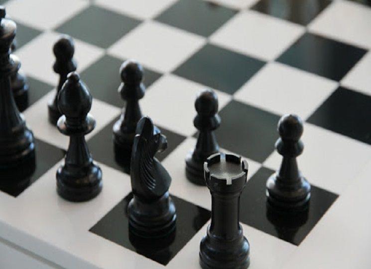 Unesena nadějná třináctiletá šachistka...