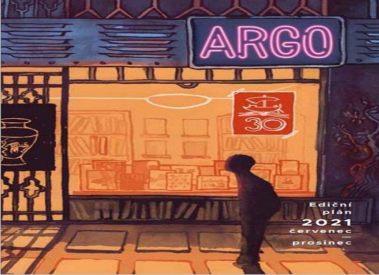 Ediční plán Argo - červenec - prosinec 2021