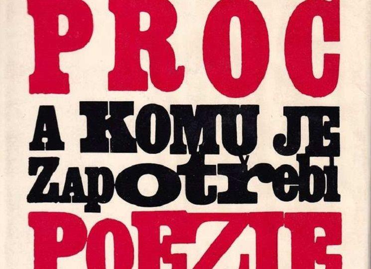 Odeon má svojí edici poezie - řídí Olga Stehlíková