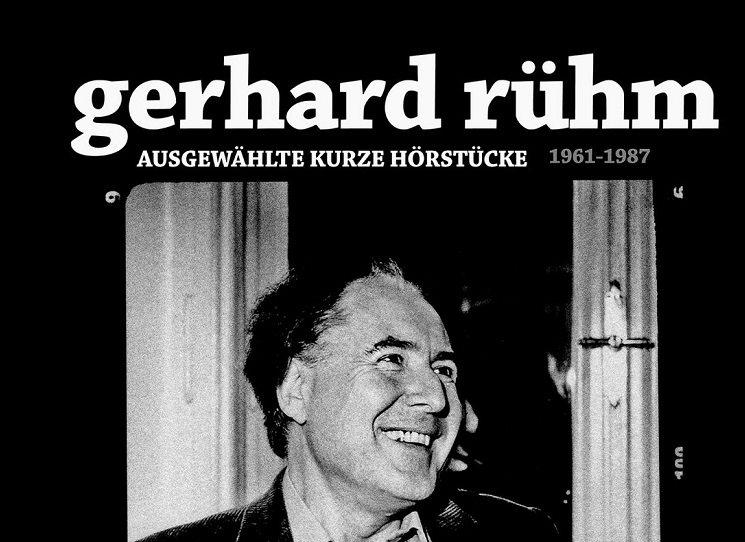 Texty Gerharda Rühma (1930) vycházejí z jazykově reflexivních směrů, jako je konkrétní poezie nebo dadaismus, v období Wiener Gruppe jsou patrné též vlivy surrealismu nebo černé romantiky. Rühm dodnes dokáže provokovat: mj. důmyslně pracuje s pornografickými motivy, střílí si z křesťanství, často vzývá estetiku ošklivosti, vulgarismu či banality. Víc o výběru z autorovy tvorby v ukázce z doslovu překladatele Pavla Novotného.