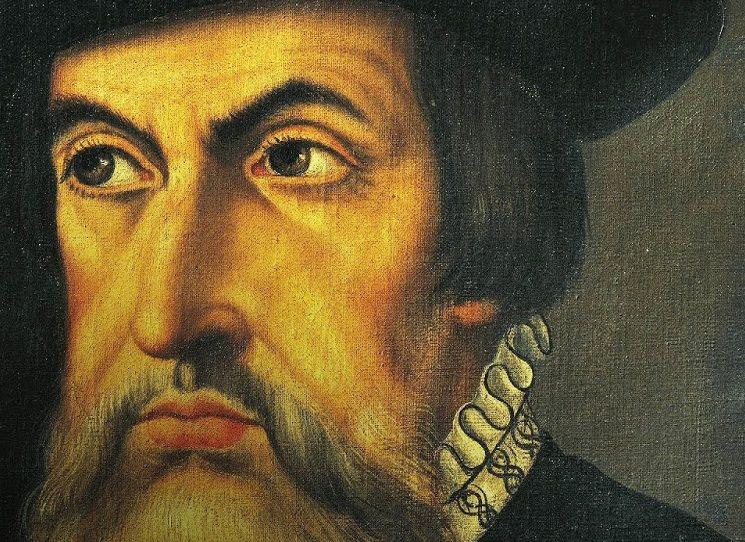 Cortés píše Karlu V. o svém dobývání aztécké říše